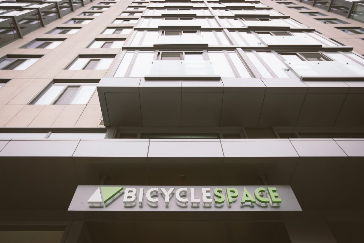BycycleSPACE building