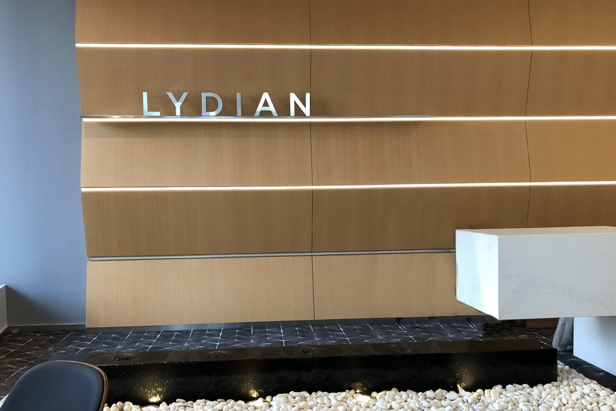 Lydian's lobby